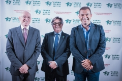 El presidente de Apotecaris Solidaris, Mateu Tous, y el director técnico de la ONG, Joan Albert Segura.