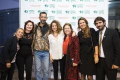 Parte del equipo de Farmamundi con la Fundación Cavadas.