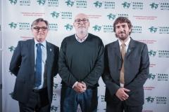 Ricard Troiano, Manuel Alcaraz y Joan Peris.