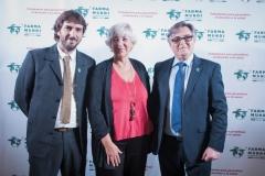 Joan Peris, Antonia Moreno y Ricard Troiano.