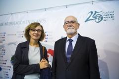 La vocal de Asociaciones del MICOF, Maite Torres, y el presidente del MICOF de Valencia, Jaime Giner.