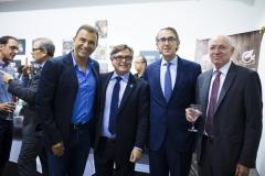 Joan Albert Segura, Ricard Troiano, Enrique Ordieres y Mateu Tous.