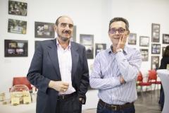 Juan Carlos Tomás, auditor en Juan Carlos Tomás auditores y el técnico de Proyectos de Farmamundi, Rafael Mauri.