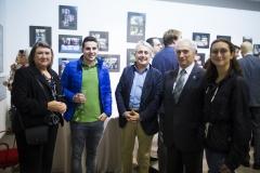 La farmacéutica Ana Arnau,  el farmacéutico Paco Clemente, los ex presidentes de Farmamundi, Paco Clemente y Jesús Bellver, y la farmacéutica y voluntaria de Farmamundi, Ana Bellver.