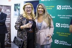 La técnica de Administración en Farmamundi, Coral Ansón, y delegada de Farmamundi en Castellón, Marián Borja.