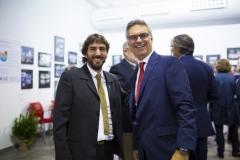 El director general de Farmamundi, Joan Peris, y el director general adjunto en Centro Farmacéutico, Fernando Ruiz.
