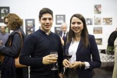María Claudia Rus y Borja Santa Creu, de la Asociación Valenciana de Estudiantes de Farmacia.