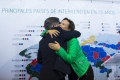 Celebración de los 25 años de Farmamundi en la sede central de la ONG en Paterna (Valencia).