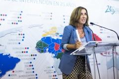 Cristina Tiemblo recogió el Premio 25 años Farmamundi a la Divulgación, en nombre del CONGRAL.