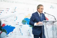 José Luis Daroqui, durante su discurso.