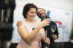 La técnico de Comunicación y Marketing de Farmamundi, Isabel Rivera, y el técnico de Proyectos de Cooperación, Albert Figa.