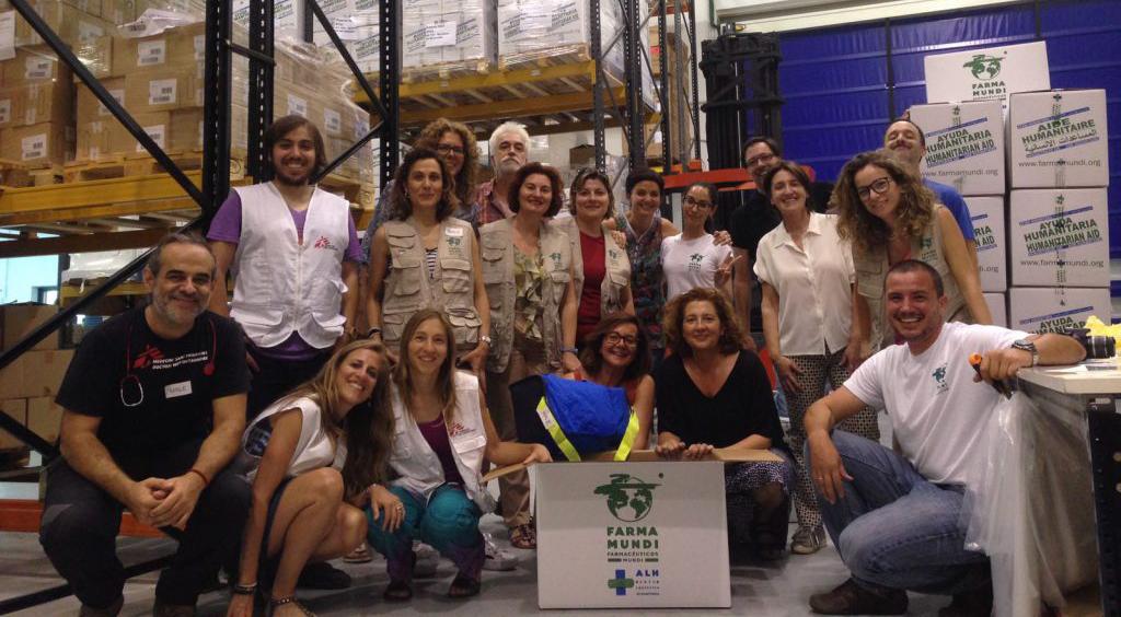 Farmamundi prepara 400 kits de rescate para suministrar al Aquarius