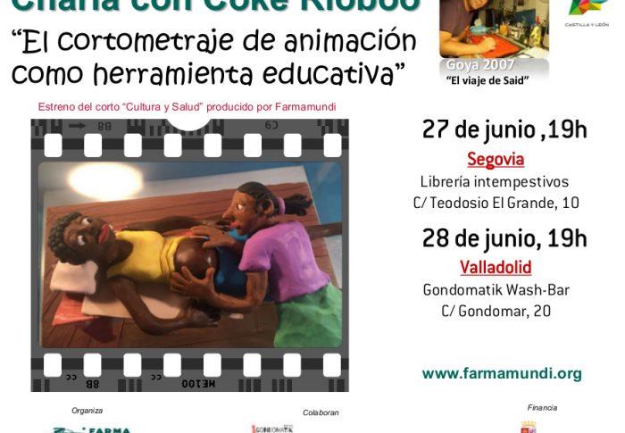 El ganador de un Goya Coke Riobóo y Farmamundi presentan el corto de animación 'Cultura y Salud'