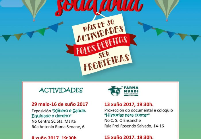 Farmamundi reivindica el acceso a la salud en la II Edición de 'Compostela+Solidaria'