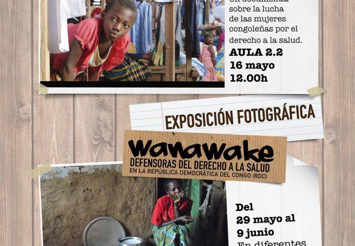 Farmamundi proyecta 'Temps d'Écoute' sobre la lucha de las mujeres congoleñas por el derecho a la salud en la Univesitat de València