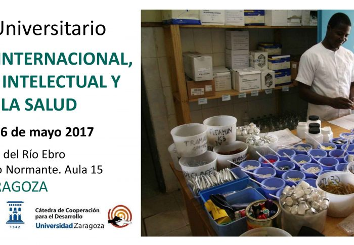 Farmamundi celebra en la Universidad de Zaragoza el curso de Comercio Internacional, Propiedad Intelectual y Derecho a la Salud