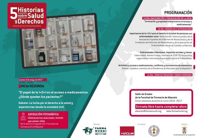 Farmamundi debate sobre la investigación médica en el acceso a medicinas en la Facultad de Farmacia de Albacete