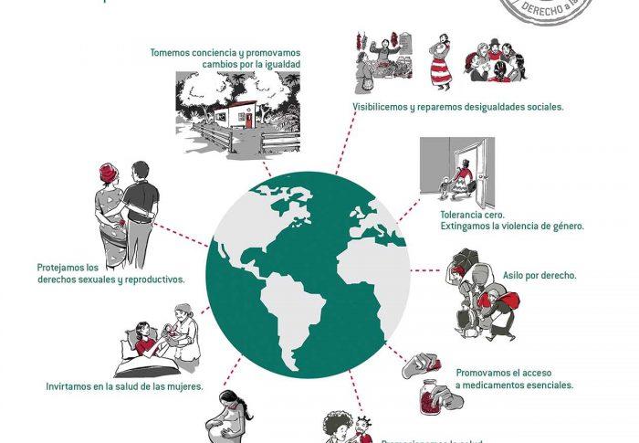 Farmamundi expone en las dos capitales extremeñas una muestra sobre género y salud