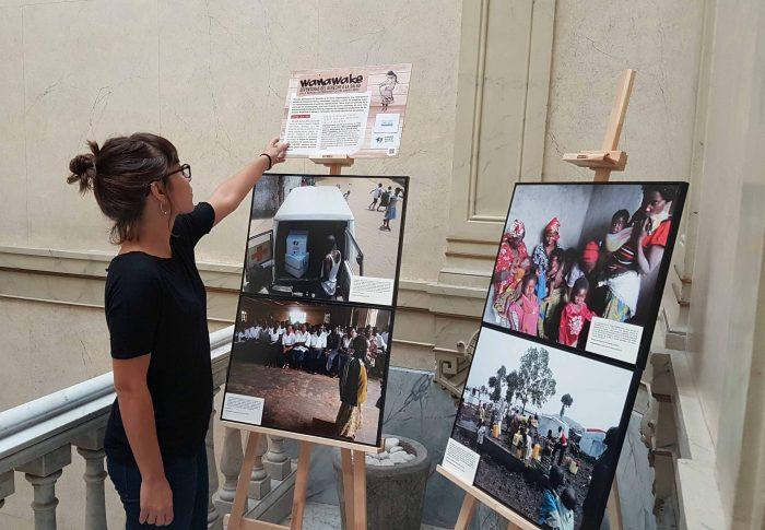 El MICOF y Farmamundi celebran el Día del Farmacéutico con una exposición sobre el derecho a la salud