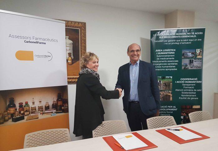 CarbonellFarma se suma al Fondo de Emergencias de Farmamundi para defender la salud como derecho universal