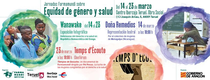 Farmamundi organiza en Teruel unas jornadas por la equidad y la salud
