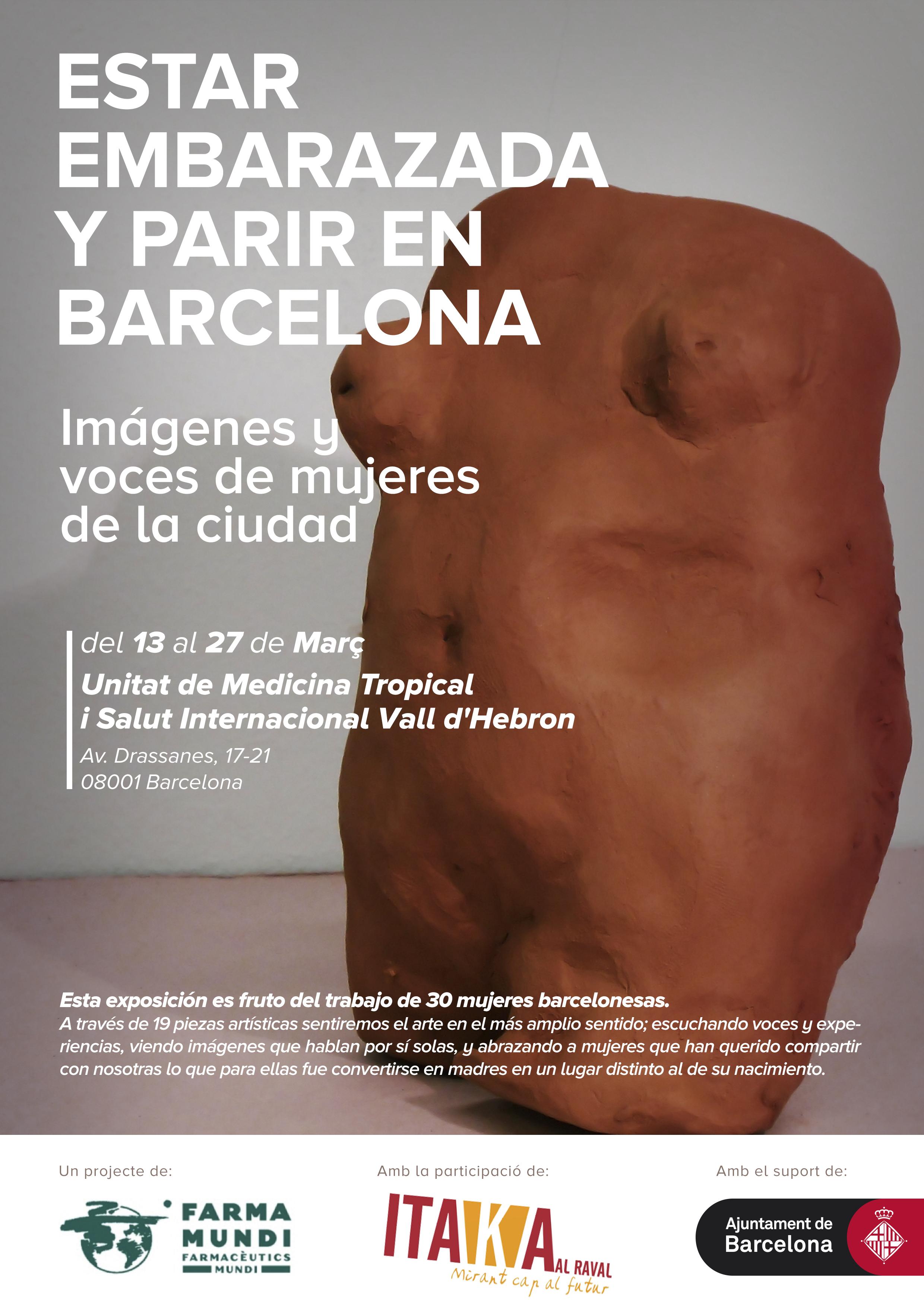 Farmamundi organiza la exposición Estar embarazada y parir en Bacelona
