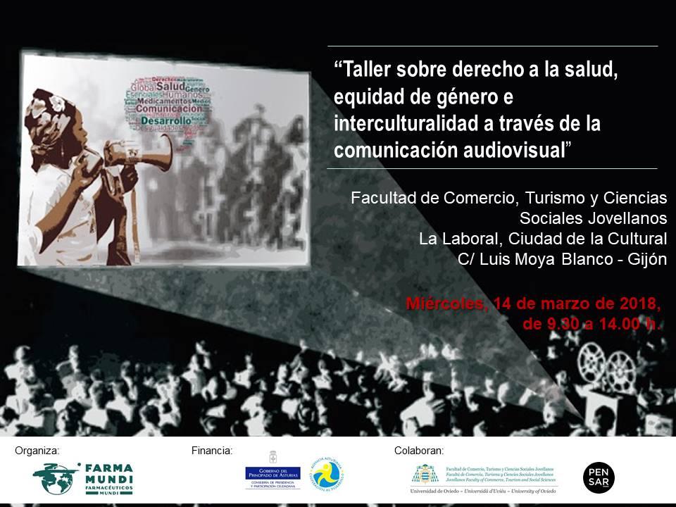 Taller audiovisual organizado por Farmamundi en Gijón
