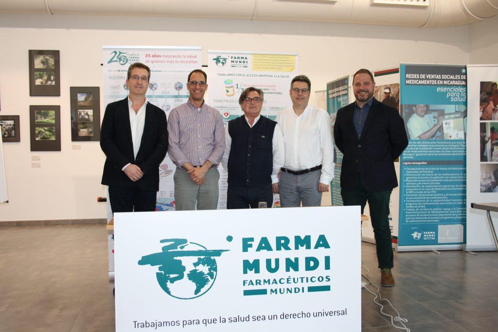 Los COF de Aragón firman convenios de colaboración con Farmamundi
