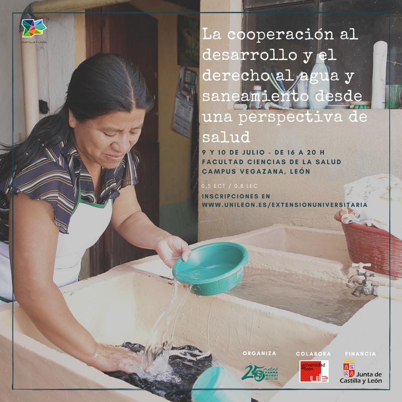 Farmamundi organiza un curso de saneamiento y agua en la Universidad de León