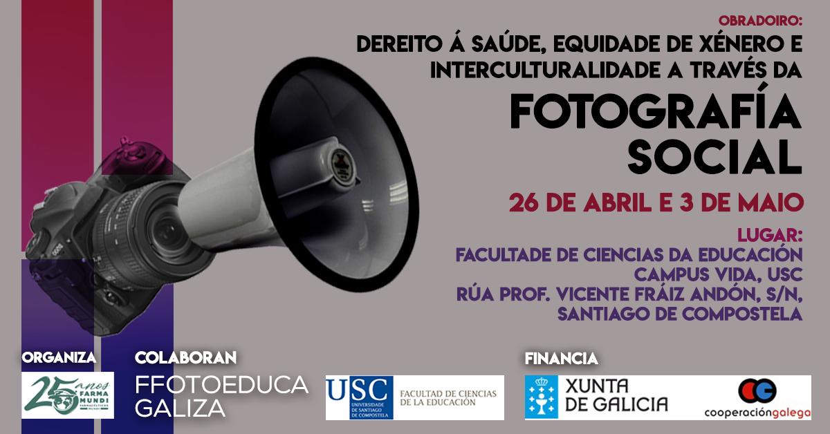 Farmamundi organiza en Galicia un taller de fotografía social