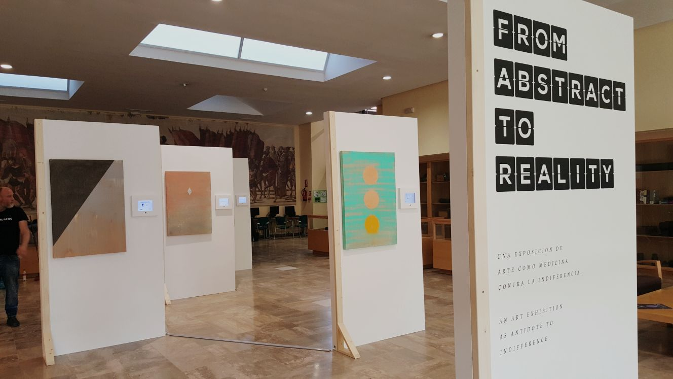 Farmamundi ha organizado la exposición From abstract to reality en Toledo