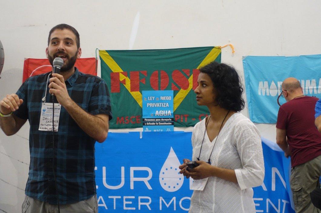 Entrevista a Food Water Europe: tener agua para tener salud