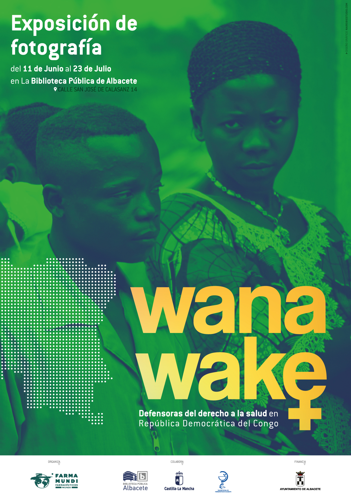 Farmamundi organiza la exposición fotográfica Wanawake en Albacete