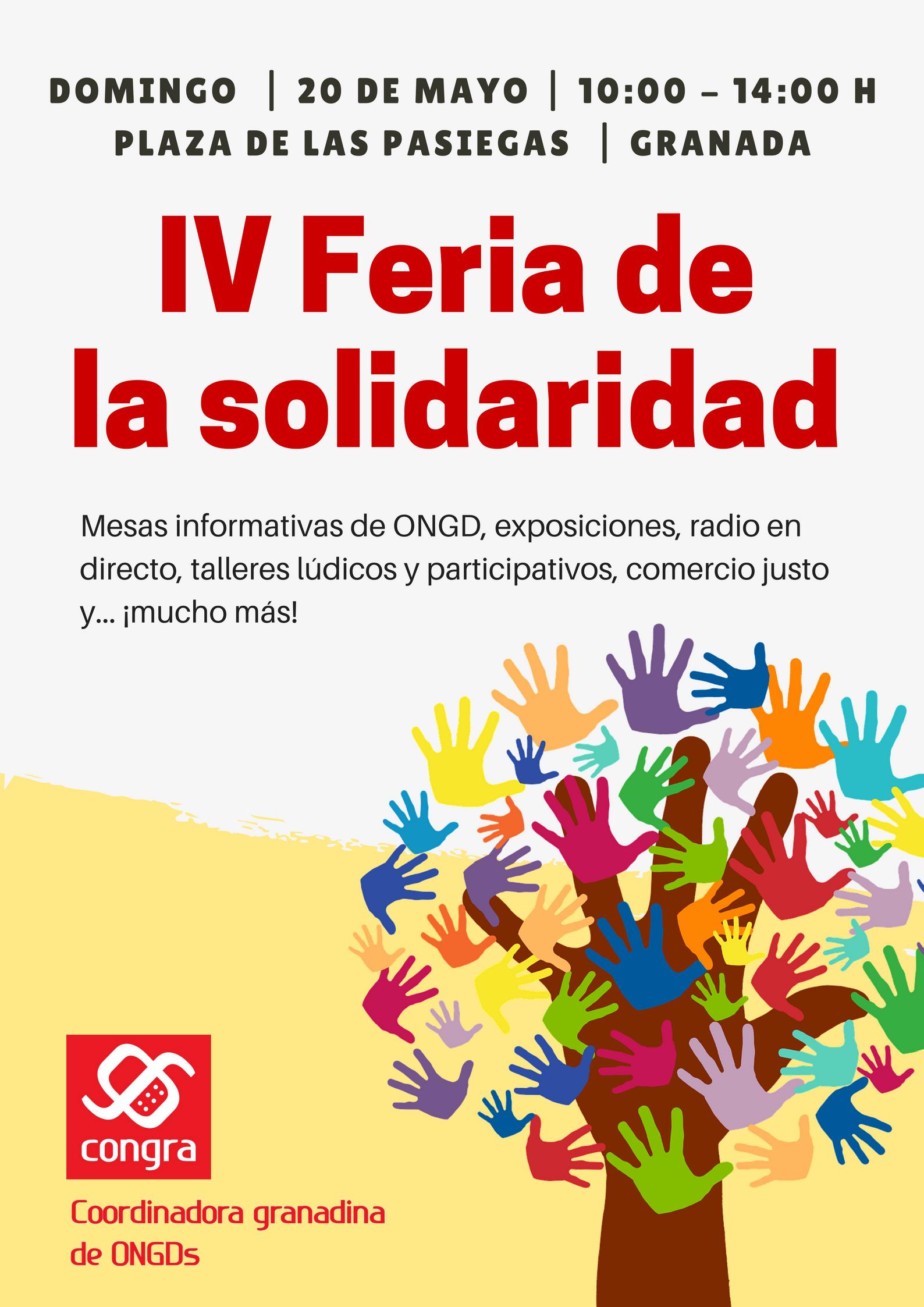 Farmamundi estará presente en la Feria de la Solidaridad de Granada