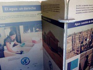 Exposición El agua, un derecho en el Centro del Urogallo