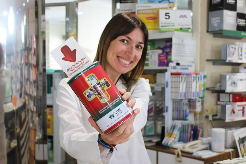 La hucha de Farmamundi aporta ayuda directa a los que más lo necesitan