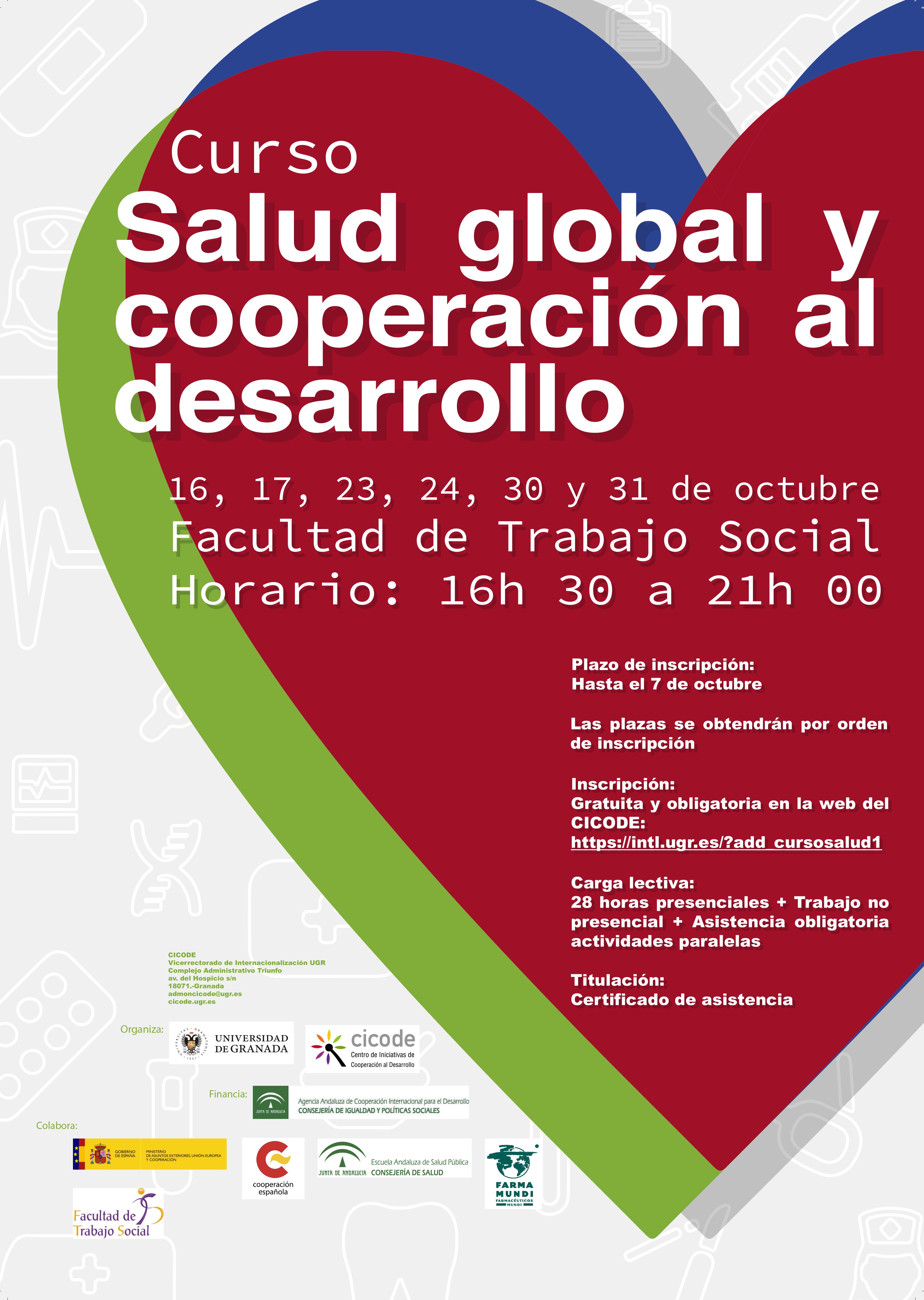 Curso organizado por el Centro de Iniciativas de Cooperación para el Desarrollo (CICODE) de la Universidad de Granada