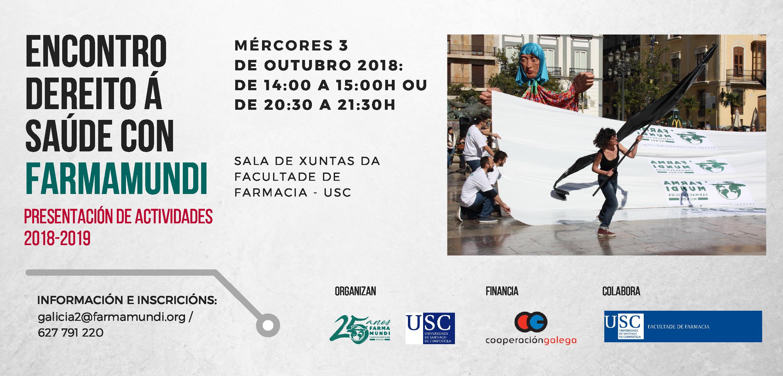 Farmamundi celebra un encuentro para presentar la entidad en Santiago de Compostela