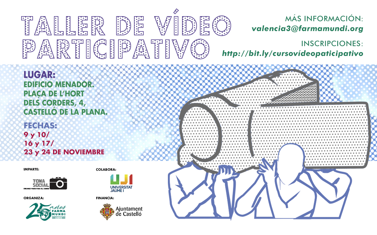 Descubre el vídeo participativo en este taller organizado por Farmamundi en Castellón