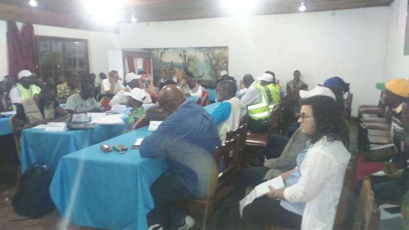 Todos los días hay reuniones de coordinación en Butembo ante la epidemia del ébola