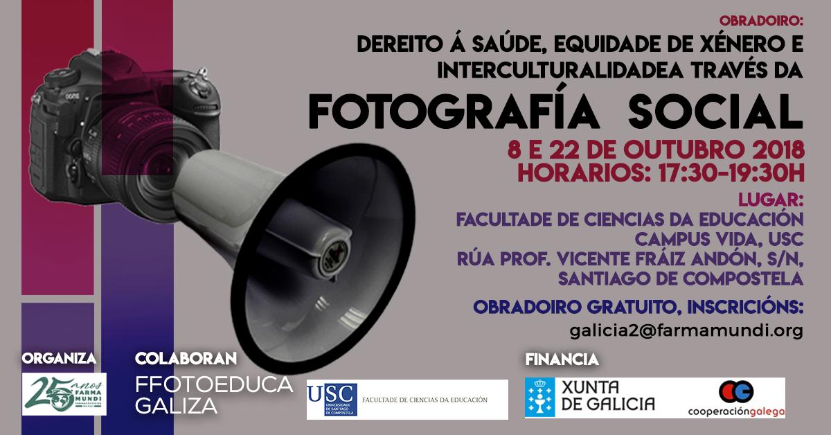 Participa en el taller de fotografía social que organiza Farmamundi en Galicia
