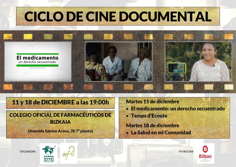 Farmamundi organiza un ciclo de cine por el derecho a la salud en Bilbao