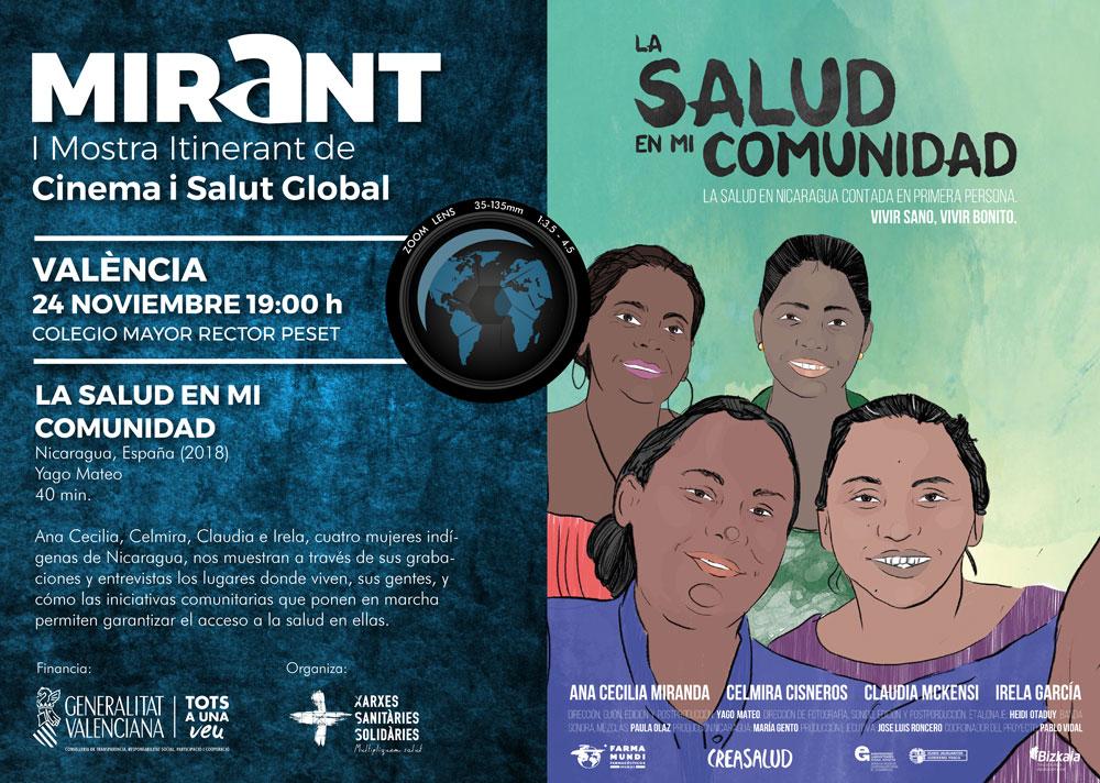 Farmamundi participa en la Mostra de Cinema Mirant con el documental La salud en mi comunidad
