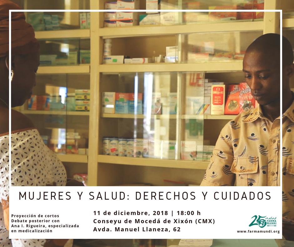 Farmamundi organiza en Gijón un vídeoforum sobre las mujeres y el acceso a la salud