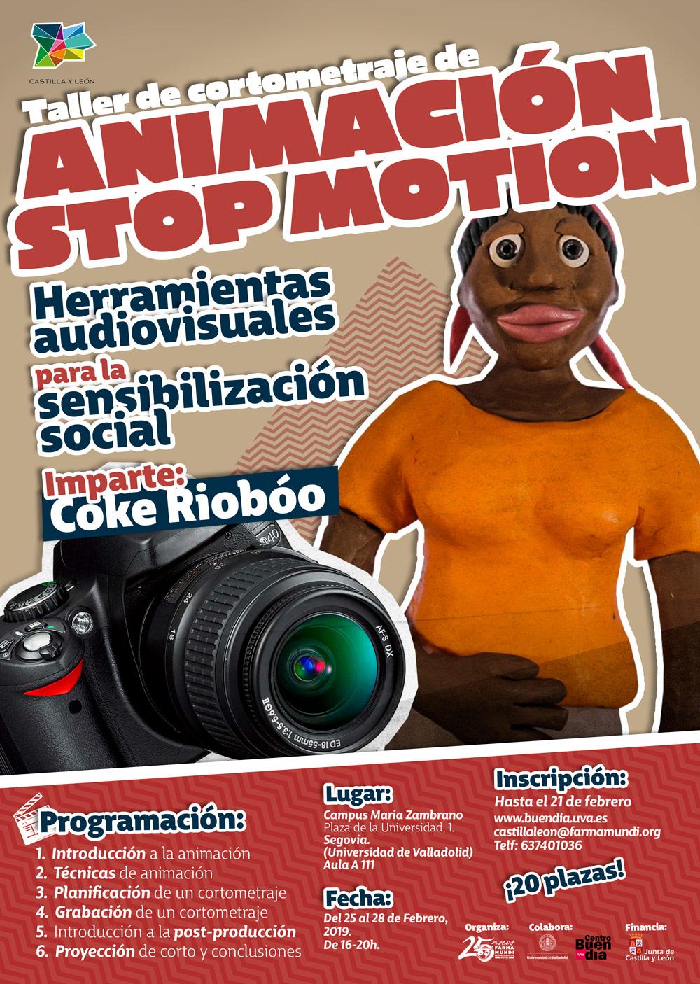 Farmamundi organiza en Segovia un taller de animación 'stop motion'