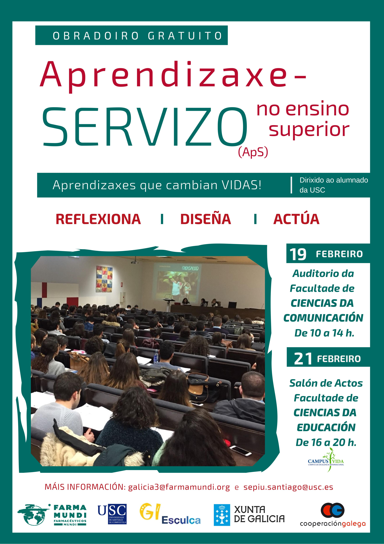 Farmamundi realiza un taller sobre la metodología de Aprendizaje y Servicio en Galicia