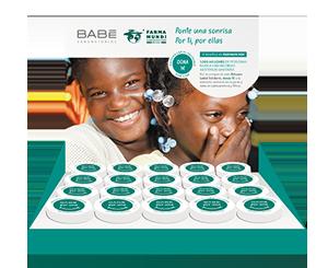 Farmamundi y Laboratorios Babé presental el bálsamo solidario