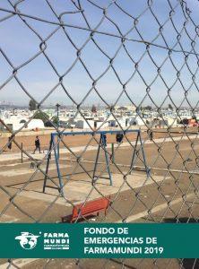 Portada del informe de intervenciones durante 2019 del Fondo de Acción Humanitaria y de Emergencias de Farmamundi