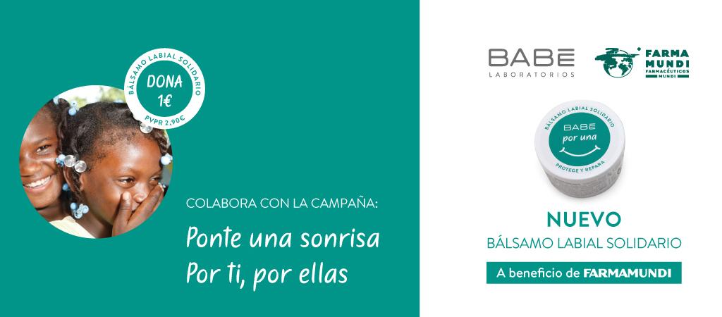 Farmamundi y Laboratorios BABÉ presentan la campaña 'Por una sonrisa'