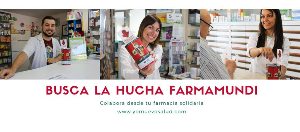Busca la hucha Farmamundi en tu farmacia solidaria